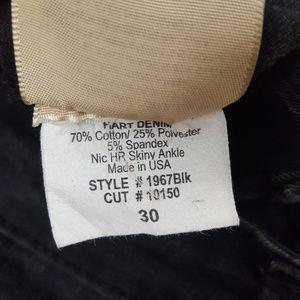 Hart Denim Jeans - 3/$30 Hart Denim  Distressed Black  Jeans Sz 30
